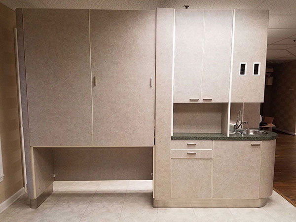 European Designs Cabinet for Dental Office