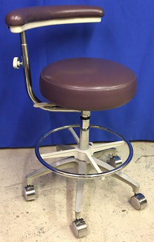 Dental Stool with Adjustable Arm
