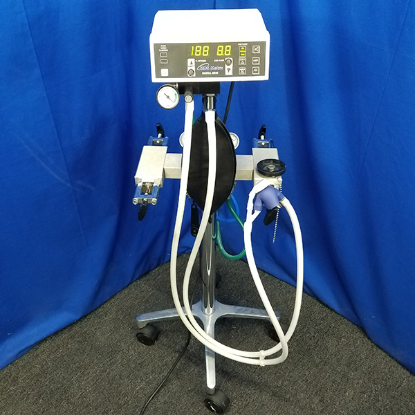 MDS Matrx Digital MDM Flowmeter, with Rubber Goods, Tubing and Stand (4)